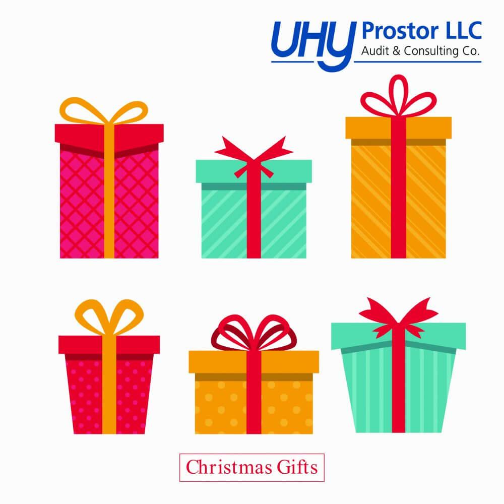 Питання оподаткування новорічних подарунків